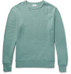 Hartford - Loopback Slub Cotton-Jersey Sweatshirt