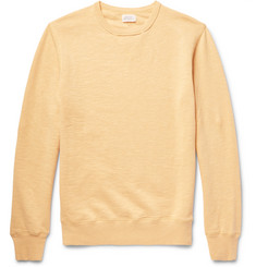 Hartford Loopback Slub Cotton-Jersey Sweatshirt