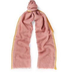 Loro Piana - Cotton, Cashmere and Silk-Blend Scarf