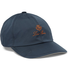 Loro Piana Embroidered Shell Baseball Cap