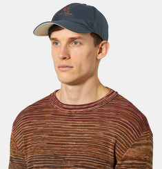 Loro Piana - Embroidered Shell Baseball Cap