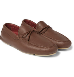 Loro Piana - Roadster Walk Leather Driving Shoes