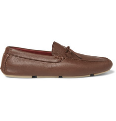 Loro Piana Roadster Walk Leather Driving Shoes