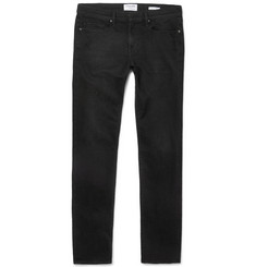 Frame Denim - L'Homme Skinny-Fit Distressed Stretch-Denim Jeans