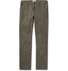 Frame Denim - L'Homme Slim-Fit Stretch-Cotton Twill Chinos