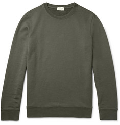 Frame Denim Loopback Cotton-Jersey Sweatshirt