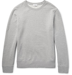 Frame Denim Mélange Loopback Cotton-Jersey Sweatshirt