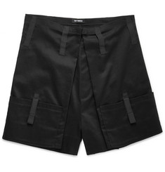 Raf Simons - Wide-Leg Cotton Shorts