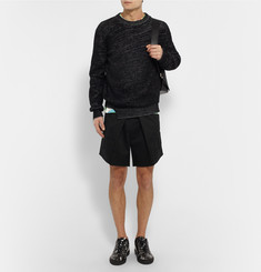 Raf Simons Wide-Leg Cotton Shorts