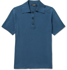 Raf Simons Slim-Fit Cotton-Piqué Polo Shirt