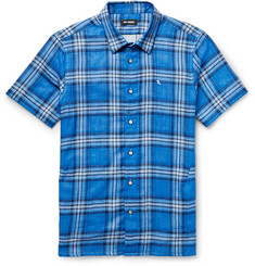 Raf Simons Slim-Fit Checked Cotton Shirt
