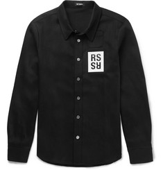 Raf Simons Washed-Denim Overshirt
