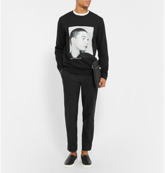 Raf Simons Isolated Heroes Oversized Printed Cotton Sweatshirt