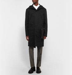 Raf Simons Isolated Heroes Oversized Cotton-Twill Hooded Parka
