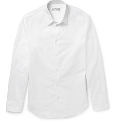 Maison Margiela Slim-Fit Micro-Tear Cotton Shirt