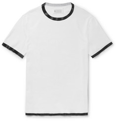 Maison Margiela Slim-Fit Rubber-Trimmed Cotton T-Shirt