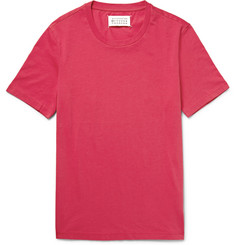 Maison Margiela - Slim-Fit Garment-Dyed Cotton-Jersey T-Shirt