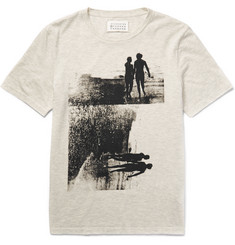 Maison Margiela - Slim-Fit Printed Cotton-Jersey T-Shirt