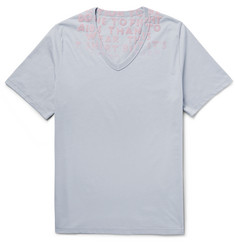 Maison Margiela - Slim-Fit AIDS Awareness Cotton-Jersey T-Shirt