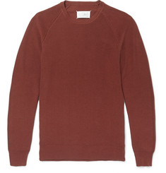 Maison Margiela Ribbed Cotton Sweater