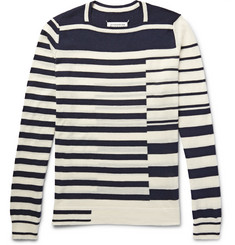 Maison Margiela Striped Wool Sweater
