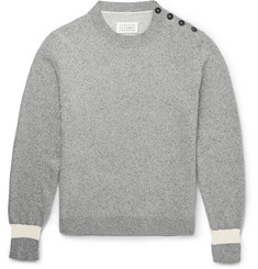Maison Margiela Mélange Silk and Cotton-Blend Sweater
