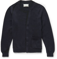 Maison Margiela Cardigan-Effect Cotton-Blend Sweater