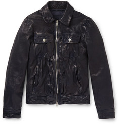 Neil Barrett - Archive Washed-Leather Jacket