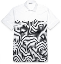 Neil Barrett Printed Cotton Shirt