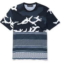 Neil Barrett Slim-Fit Printed Cotton-Jersey T-Shirt