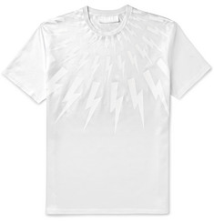 Neil Barrett - Slim-Fit Printed Cotton T-Shirt