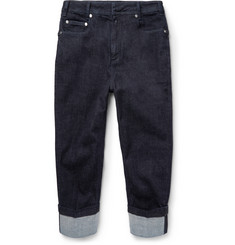 Neil Barrett - Tapered Cuffed Jeans
