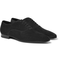 Saint Laurent - Suede Oxford Shoes