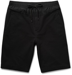 Public School - Panelled Fleece-Back Jersey Shorts
