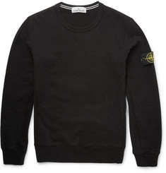 Stone Island - Slim-Fit Cotton Sweater