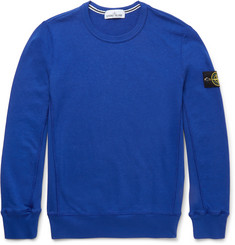 Stone Island - Slim-Fit Cotton Sweatshirt