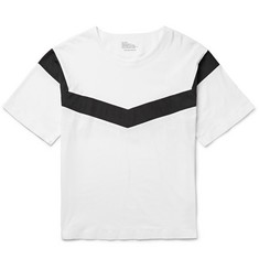 White Mountaineering - Oversized Striped Cotton-Jersey T-Shirt