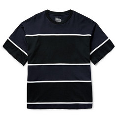 White Mountaineering - Tape-Striped Cotton-Jersey T-Shirt