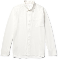 White Mountaineering - Panelled Tech-Jersey Shirt