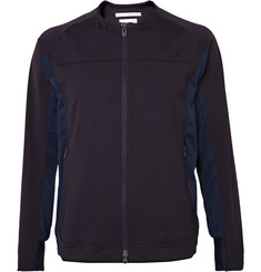 White Mountaineering - Panelled Tech-Jersey Jacket