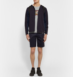 White Mountaineering Panelled Tech-Jersey Jacket