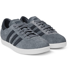 White Mountaineering - + adidas Tobacco Suede Sneakers