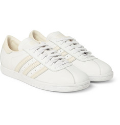 White Mountaineering - + adidas Tobacco Leather Sneakers