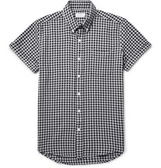Saturdays Surf NYC - Esquina Button-Down Collar Gingham Cotton Shirt