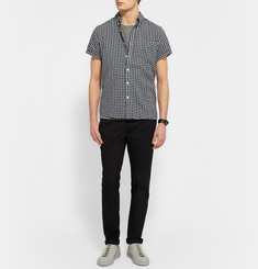 Saturdays NYC Esquina Button-Down Collar Gingham Cotton Shirt
