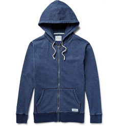 Saturdays Surf NYC Zip-Up Loopback Cotton-Jersey Hoodie
