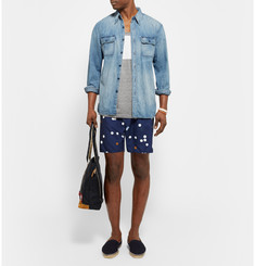 Saturdays Surf NYC - Colin Printed Mid-Length Swim Shorts
