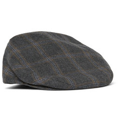 Kingsman +  Lock & Co Hatters Prince of Wales Checked Wool Flat Cap