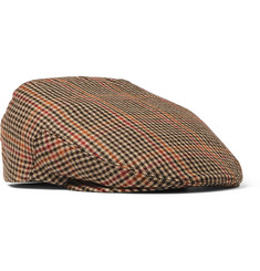 Kingsman - + Lock & Co Hatters Checked Cotton-Tweed Flat Cap