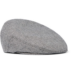 Kingsman + Lock & Co Hatters Prince of Wales Checked Flat Cap